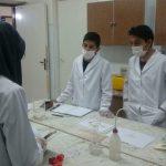 برگزاری کلاسهای آمادگی دانش آموزان جهت شرکت در هیجدهمین دوره مسابقات آزمایشگاهی
